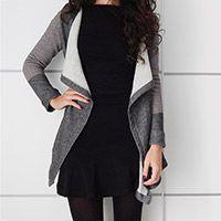 DIY   Chaqueta drapeada Diy Vestido, Diy Clothing, Sewing Diy, Blazer, My Style, How To Make, Jackets, Clothes, Fashion