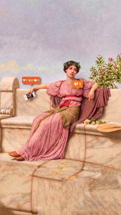 Funny wallpapers lockscreen android 69 ideas for 2019 Memes Arte, Classical Art Memes, Afrique Art, Photocollage, Arte Pop, Funny Wallpapers, Vintage Wallpapers, Aesthetic Art, Oeuvre D'art