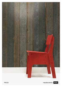 No. 4 Scrapwood Wallpaper design by Piet Hein Eek for NLXL Wallpaper