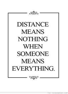 Long distance friendships