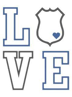 Designs :: Police & Military :: Love Shield