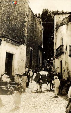 Calles. Taxco, Guerrero.