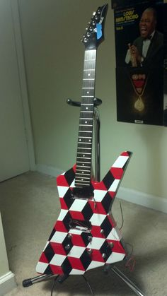 Awesome guitar art.