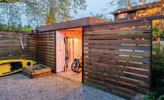 Stylish garden sheds give new meaning to living well outdoors.