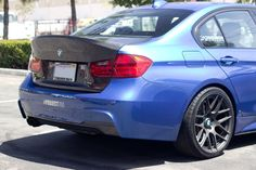 BMW F30 F80 CSL Style Trunk - FRP - Full Replacement 328i 335i M3