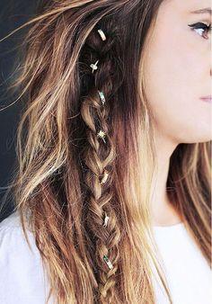 tutos coiffures bijoux de cheveux
