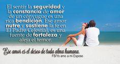 Mi esposo es mi mejor amigo,compañero y apoyo!!..Gracias a Dios por mi amado esposo!!...