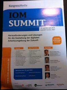 Infoflyer des IOM-Summits