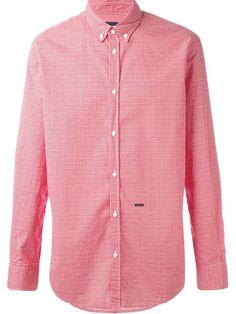 DSQUARED2 Gingham Print Shirt. #dsquared2 #cloth #shirt