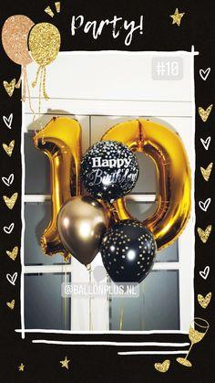 Helium ballonnen trossen zijn een feestelijke toevoeging aan een verjaardagsfeestje. Bestel op tijd om teleurstelling te voorkomen. Afhaaladres Boeketten.nl Buurtwinkel centrum Galecop Nieuwegein Om, Happy Birthday, Party, Happy Brithday, Urari La Multi Ani, Happy Birthday Funny, Parties, Happy Birth