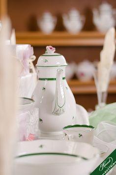 Austro Hungarian, Mocca, Vienna, Porcelain, Ceramics, Table Decorations, Tableware, Fall, Design