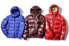 From left: Moncler Hymalay Jacket, J. Crew Hooded Puffer Jacket and Patagonia Fitz Roy Down...