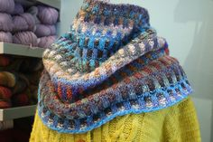 http://www.knit1chgo.com/  Inspira Cowl