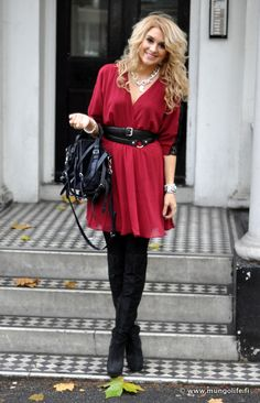 Cute Red dress for Christmas...