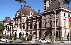 - The Parliament of Queensland in Brisbane Australia Sunshine State, Sunshine Coast, Top Places To Travel, Land Of Oz, Interesting Buildings, Houses Of Parliament, Rock Pools, Queensland Australia, Bon Voyage
