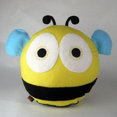 honey plush. hand stitched and made-to-order..