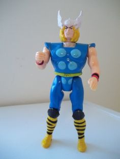 Marvel Super Heroes Thor with Smashing Hammer Action Figure >>> More info could be found at the image url.