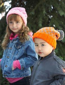 Golden Glow Earflap Hat | Yarn | Free Knitting Patterns | Crochet Patterns | Yarnspirations