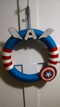 captain america wreath