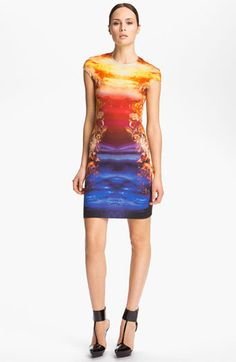 McQ by Alexander McQueen Crystal Print Dress available at #Nordstrom