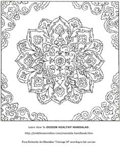Free Printable Mandala Coloring Pages Color PatternsMandala