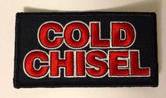 COLD CHISEL LEGEND AUSSIE ROCK BAND MUSIC Embroided Iron on Patch Badge. in Collectables, Pins, Badges, Patches, Patches | eBay!