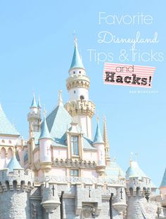 14 Favorite Disneyland Tips, Tricks and Hacks! If this is your first trip or your 20th, these tips will help make the most of your Disneyland Trip!