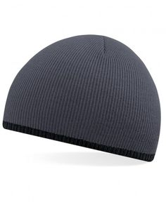 B44C Beechfield Two-Tone Pull On Beanie