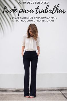 30 best sophisticated work attire and office outfits for women to look stylish and chic - Work Outfits Women Office Fashion, Work Fashion, Urban Fashion, Petite Fashion, Curvy Fashion, Street Fashion, Style Casual, Casual Chic, Casual Looks