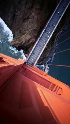 Cool can you walk the golden gate bridge exclusive on travelarize travel site Of Wallpaper, Mobile Wallpaper, Puente Golden Gate, Drones, Jolie Photo, Paros, Birds Eye View, Aerial Photography, Photography Ideas