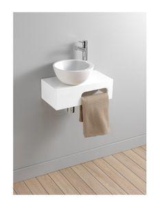 Kit Lave mains complet Venize Blanc - Salle de bain, WC
