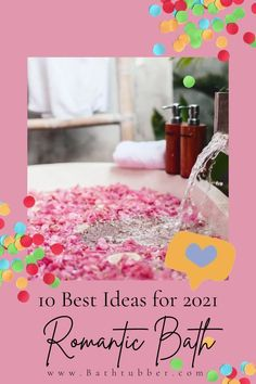 Looking for romantic bath ideas? Whether it's Valentine's Day or just another night, taking a bath with your honey can help you grow closer. That is, if you do it right. This guide will help! Romantic bath. Romantic bath together for couple. Romantic bath for two. Romantic bath ideas. #romanticbath #romanticbathtogethercouple #romanticbathfortwo #romanticbathideas Bath Gift Basket, Diy Gift Baskets, Relaxing Bath Recipes, Romantic Bathtubs, Bath For Two, Bath Benefits, Natural Bath Bombs, Diy Spa, Bath Ideas