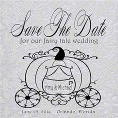 Really love these Fairy Tale Wedding invites!