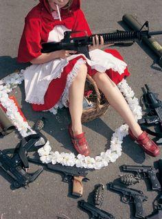 La Caperucita Roja americana.