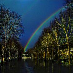 Boa tarde :D Arcos Íris de acordou hoje sem a Primavera precoce dos dias mais recentes. Se voltou a chuva também é certo que as probabilidades de nascerem arco-íris como este no Campo do Ttrasladário são maiores. Não há paraíso sem arco-íris