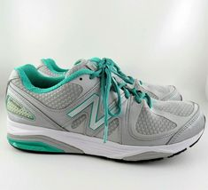 87b51fb1165e Shoes and Boots · Women's New Balance 1540v2 Running / Walking Sneakers  Silver Mint Green Size 10 #NewBalance #