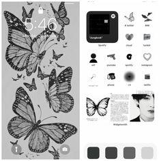 Iphone Design, Ios Design, Spotify Instagram, Iphone Wallpaper App, Iphone App Layout, Phone Themes, Phone Organization, App Icon, Ios App