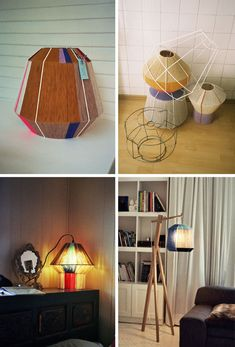 "bonbon lamps by ana kraš..""I love different looking lamps. Totally sets the mood..."