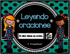 Matching Sentences (Spanish) from Sra. Proudfoot on TeachersNotebook.com -  (34 pages)  - File includes 60 sentences with matching pictures. Students can practice fluency and comprehension by reading each sentence and matching it to the picture it describes.
