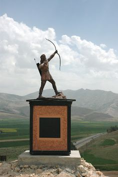 Historical Iranian sites and people: Arash Kamangir