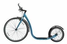Street Footbike, pearl blue