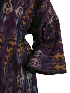 Ikat robe. Textile Museum Washington DC