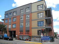 Photo du jour - renovated new building St-Laurent blvd