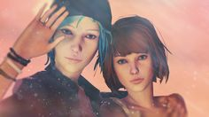 Life is Strange Max and Chloe Fan Art Thanks for watching! Here's the fan art included in the video. Gorgeous piece of art by Visola. The Colors. Overwatch, Life Is Strange Wallpaper, Life Is Strange Episodes, Dontnod Entertainment, Blue Haired Girl, Chaos Theory, Chloe Price, Max And Chloe, Partners In Crime