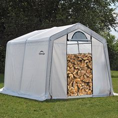 90396 Firewood Storage 10' X 10' X 8' (seasoning Shed)