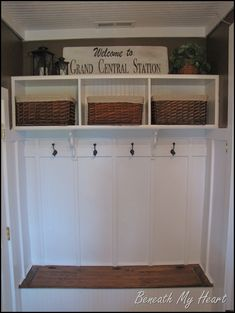 mudroom 2 in laundry room
