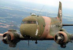 Douglas AC-47 - Known as the Dakota, Gooney Bird, DC-3, C-47 Skytrain, and Puff the Magic Dragon.