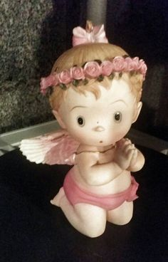 Boy Girl baby Angel for Christening  baptism birthday  Centerpieces accenting any party decoration