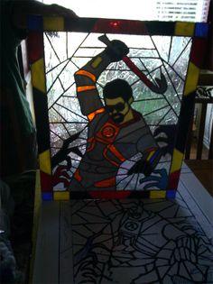 #HalfLife #Freeman stained glass