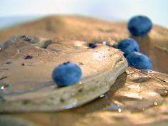 Blueberry Buckwheat Pancakes Recipe : Ellie Krieger : Food Network - FoodNetwork.com